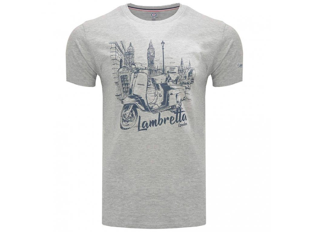 Triko Lambretta šedé