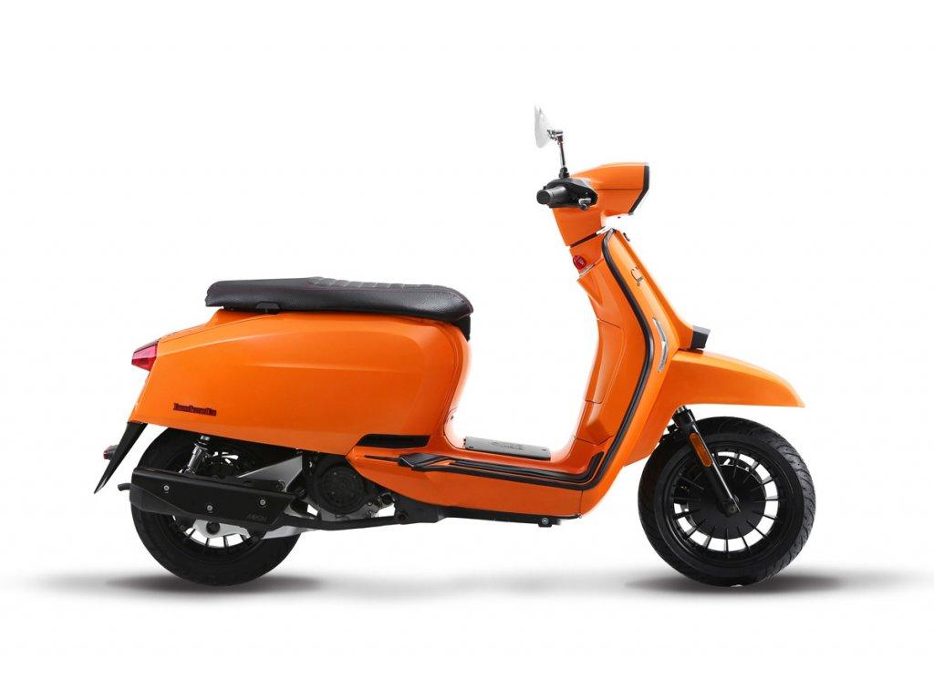 LAMBRETTA V50 Special FIX (Barva oranžová)