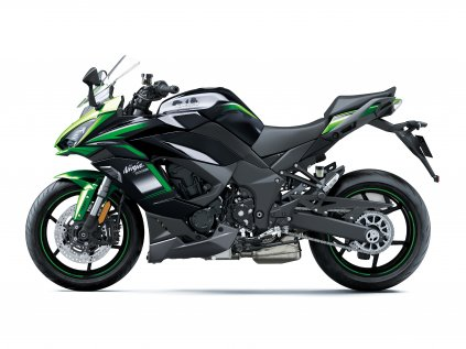 Ninja 1000SX 2020 (Barva Emerald Blazed Green / Metallic Carbon Gray / Metallic Graphite Gray)