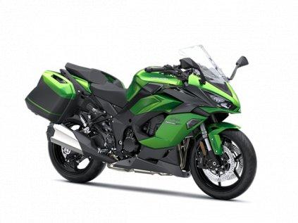 Ninja 1000SX Tourer 2020_Emerald Blazed Green / Metallic Carbon Gray / Metallic Graphite Gray
