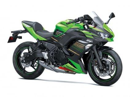 Ninja 650 2020 (Barva Metallic Spark Black)