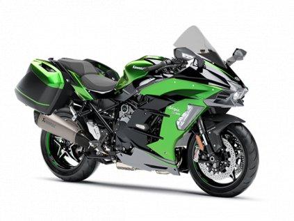 Ninja H2 SX SE+ 2020_Emerald Blazed Green / Metallic Graphite Gray / Metallic Diablo Black