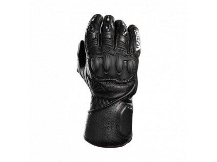 Kožené rukavice PSí COSTE černá/bílá