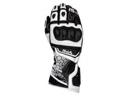 Kožené rukavice PSí GP černá/bílá